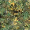 Vzor 03_EmeraldWave (hnědo-zelená)
