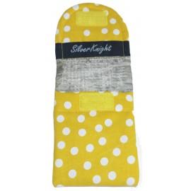 Žlutá s puntíky