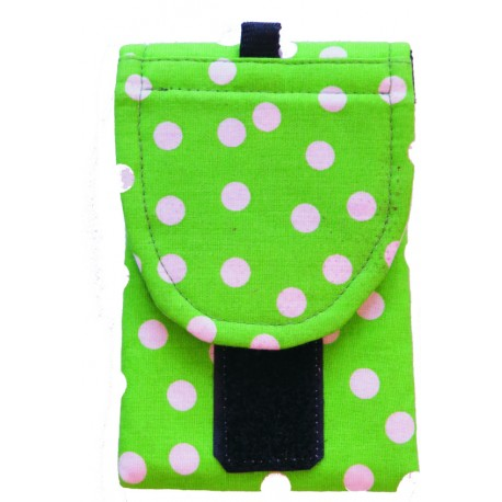 Zelené puntíky