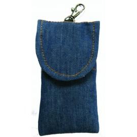 Jeansový stylový obal-tmavěmodrý