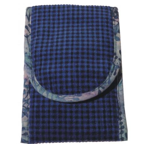 Manšestr - modrá kostka